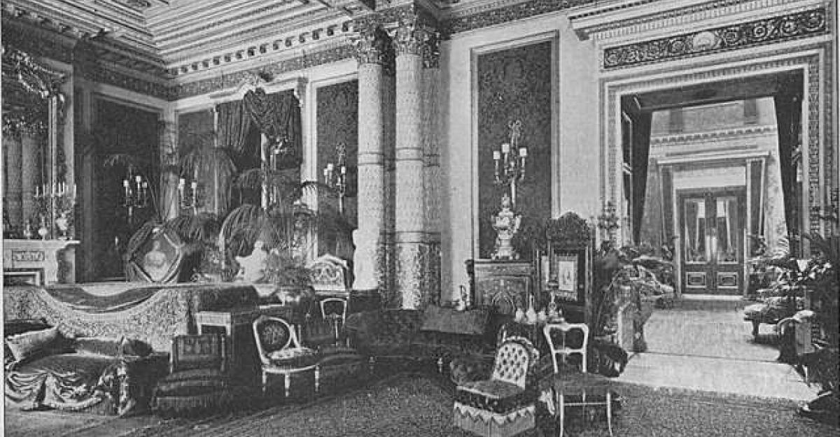 Drawing room of Marlborough House